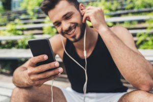 smartphone music listening